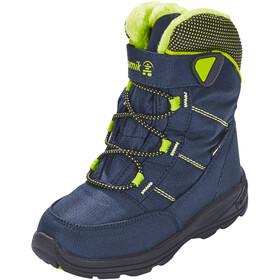 Kamik Stance Boots Kids, navy lime-marine citron vert
